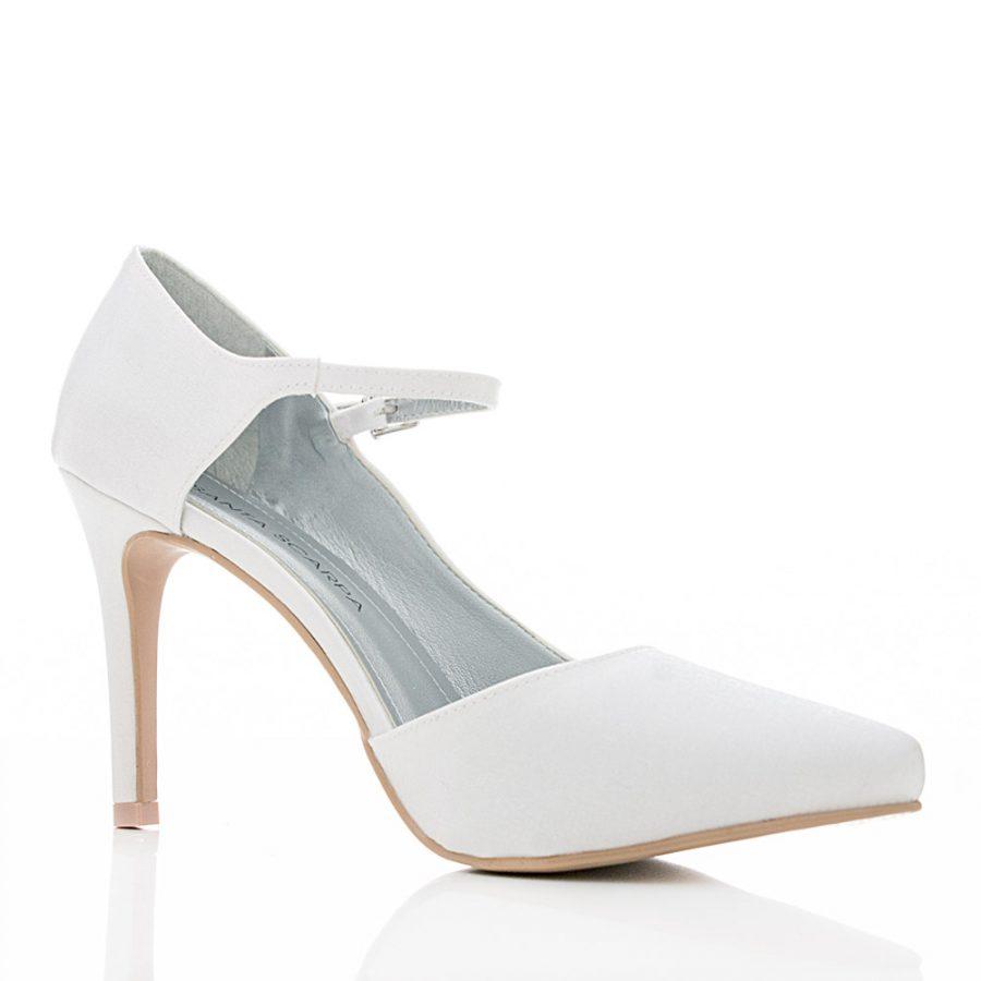 62cfbbb0d8d50 Sapato de Noiva Scarpin - Safira - Santa Scarpa