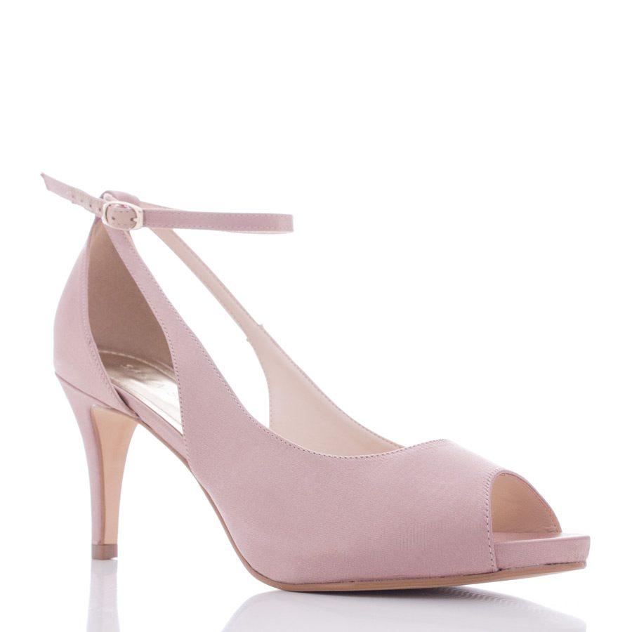 54ca42ead Sapato para Noiva e Festa Peep Toe - Sky Nude - Santa Scarpa