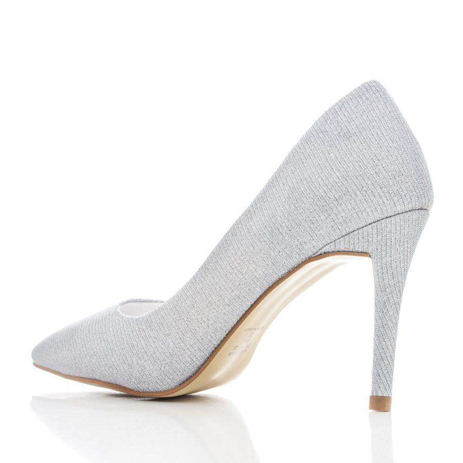 e9714b1864 Sapato de Noiva e Festa Scarpin - Eden Prata - Santa Scarpa